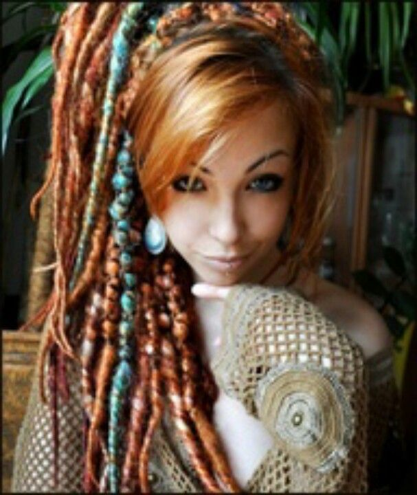 Wrapped Dreads And The Hair Color I Want For Lauras Wedding