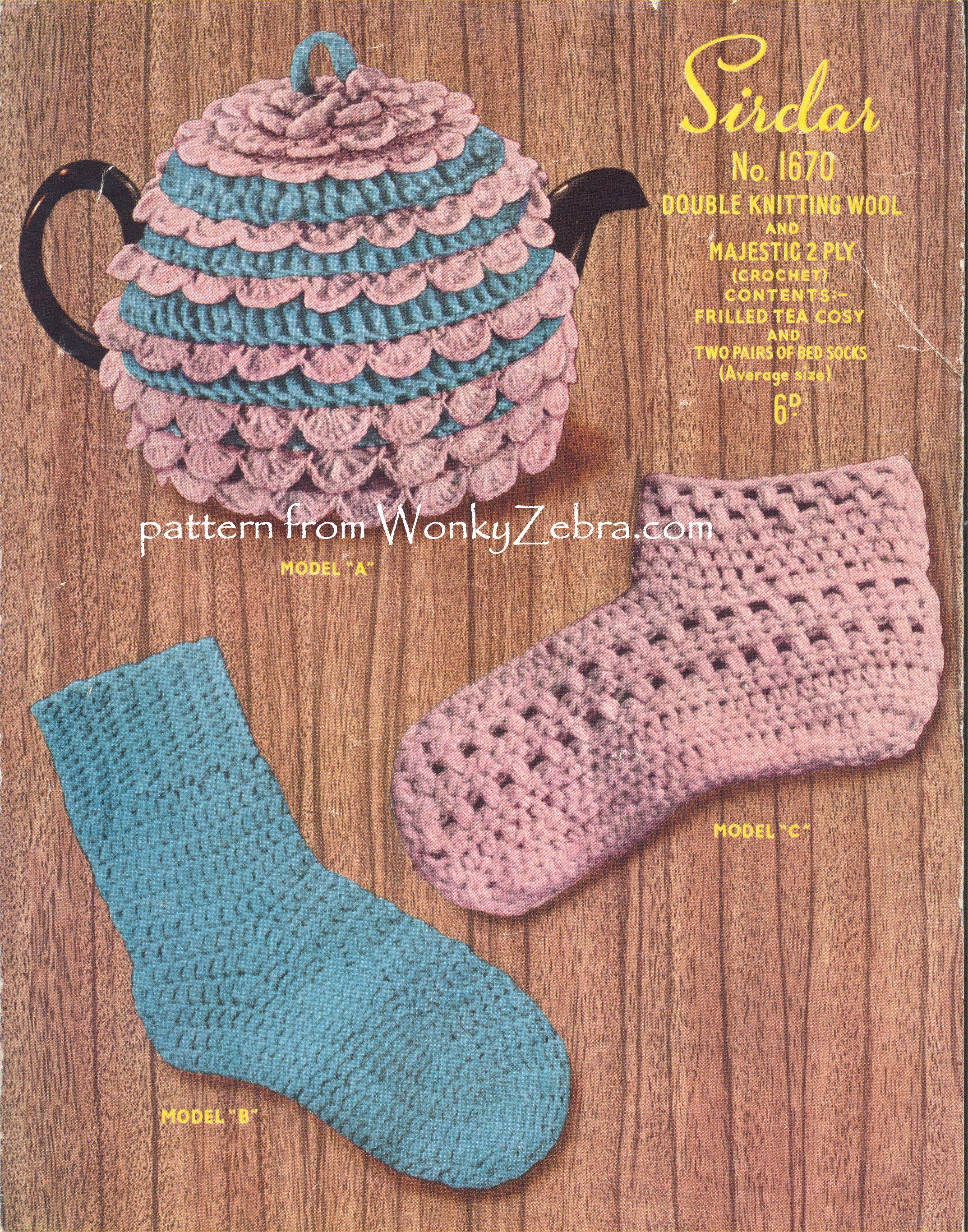 Amazing Knitting Patterns For Bed Socks Ensign - Blanket Knitting ...