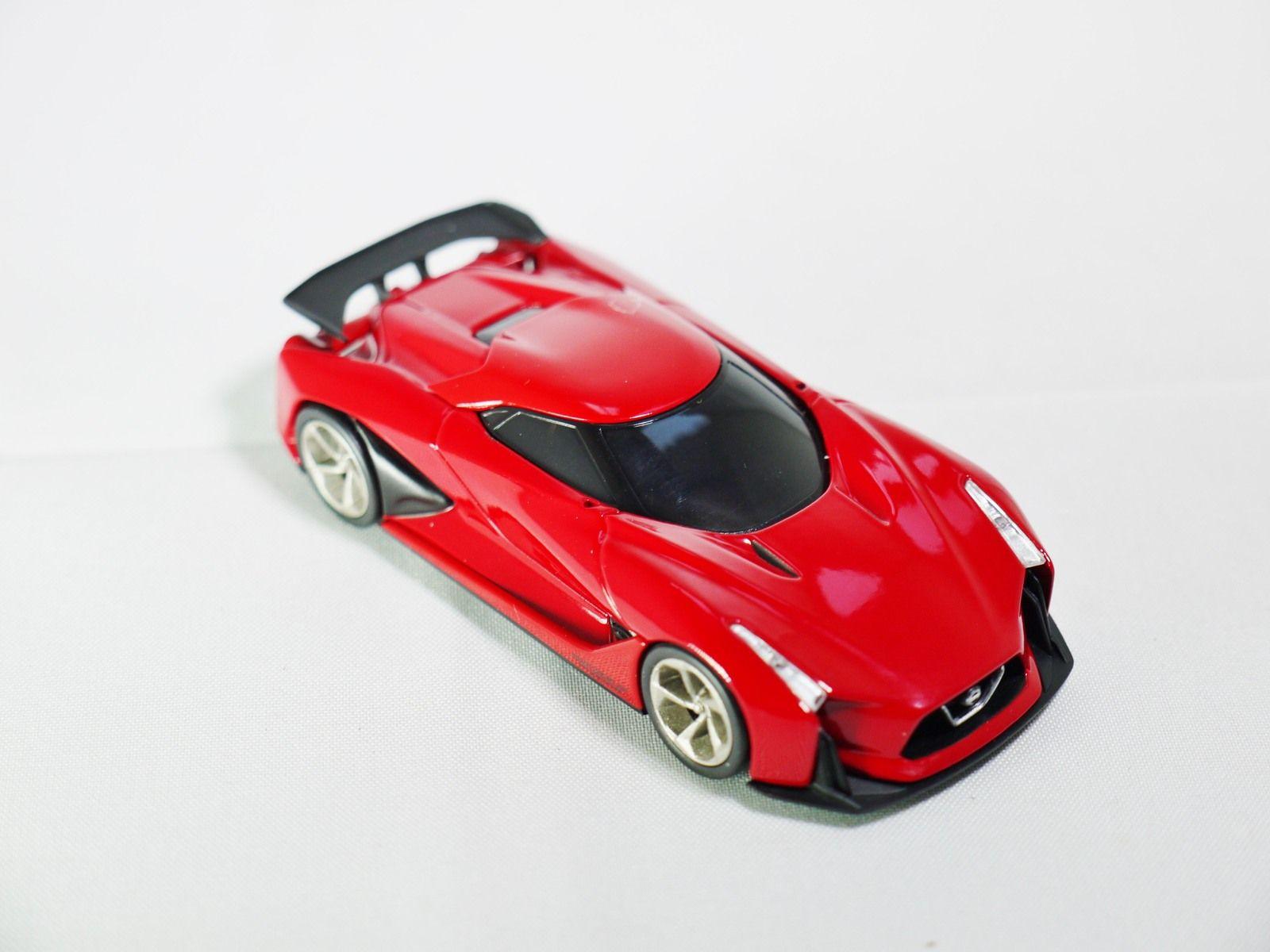 Tomica Tomytec Vintage Neo Gt Nissan Concept 2020 Vision Gran Turismo Red Street Cars Tomytec Nissan