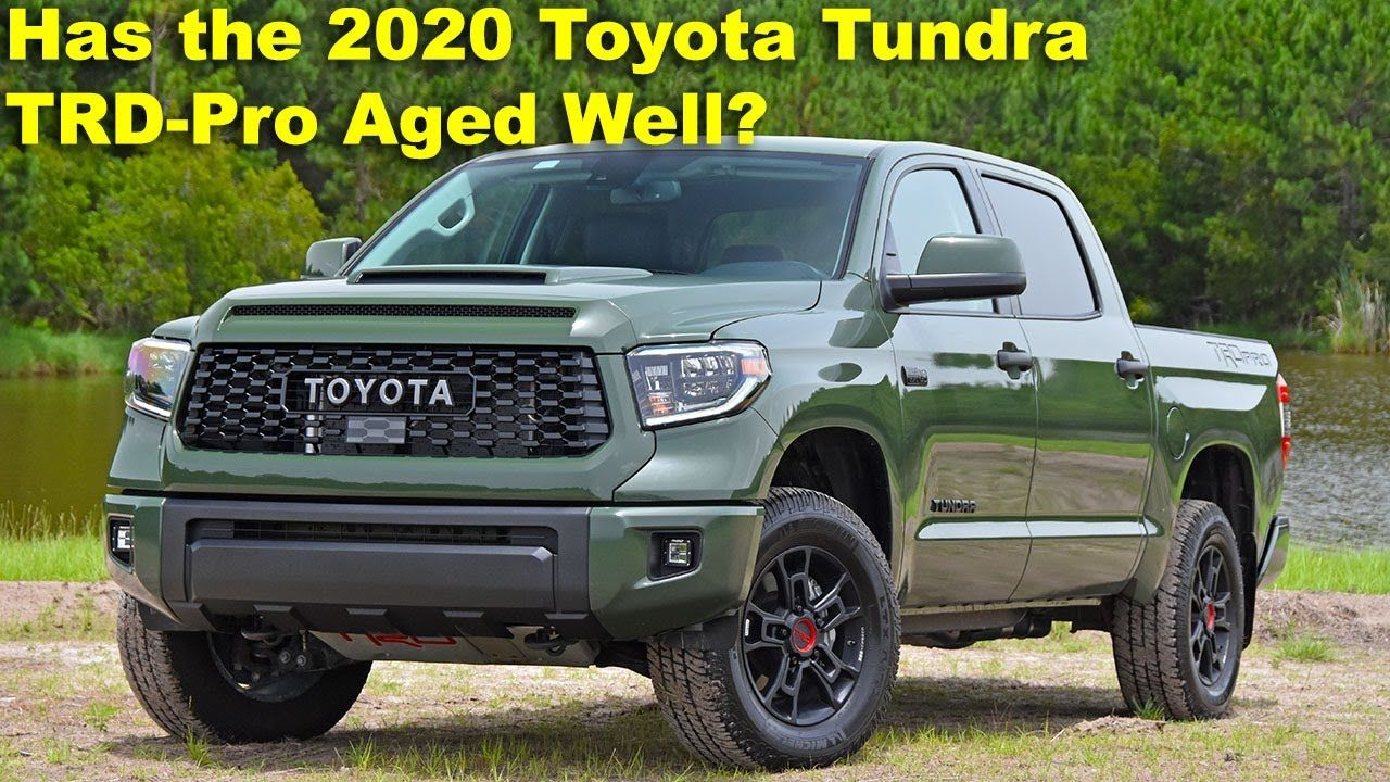 Has The 2020 Toyota Tundra Trd Pro Aged Well With Its Off Roading Skills In 2020 Toyota Tundra Trd Tundra Trd Toyota Tundra
