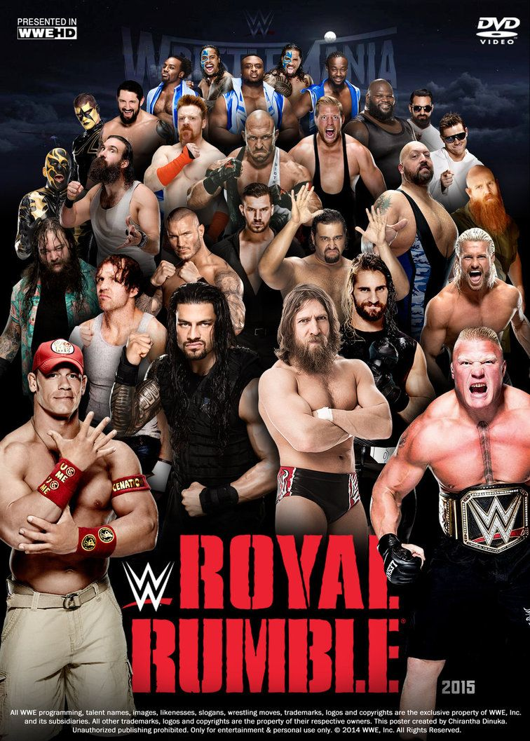 WWE ROYAL RUMBLE 2015 Download 3Gp & Mp4 | Places to Visit