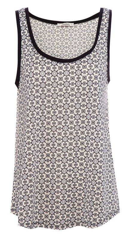 :PRINT TOP WITH STRAPS