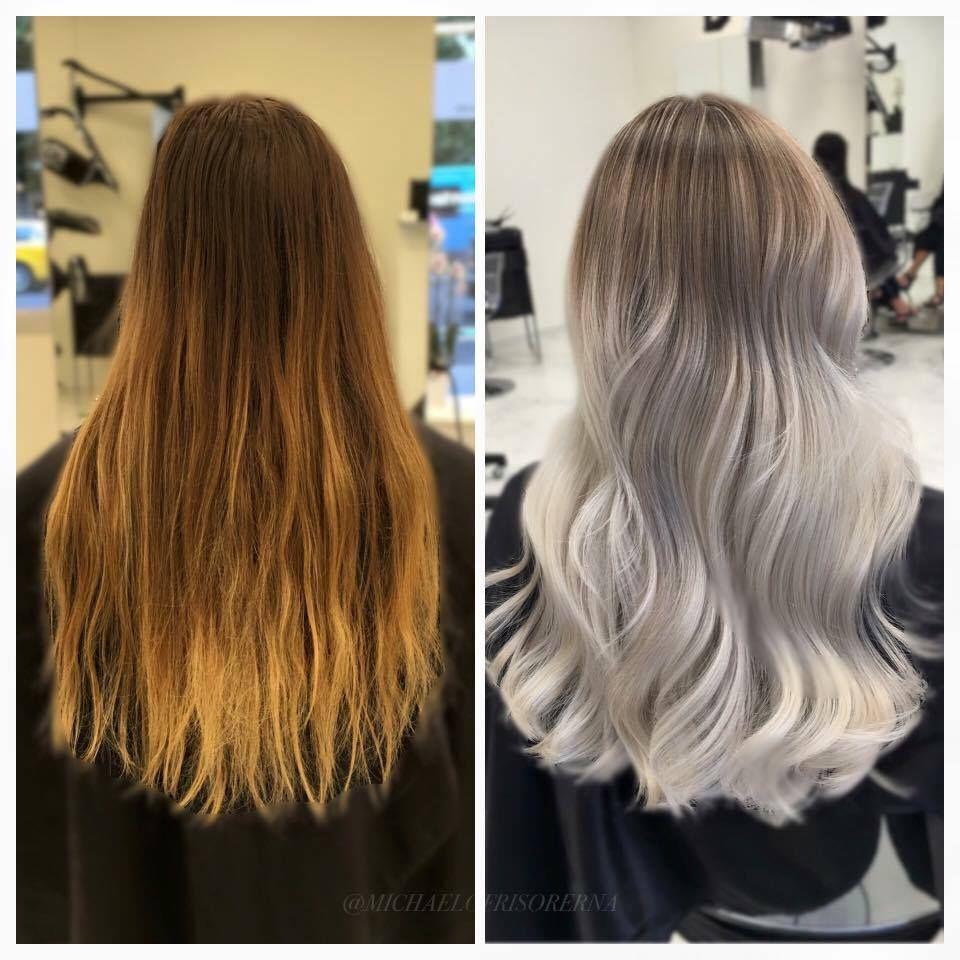 50++ Ash blonde grey balayage trends