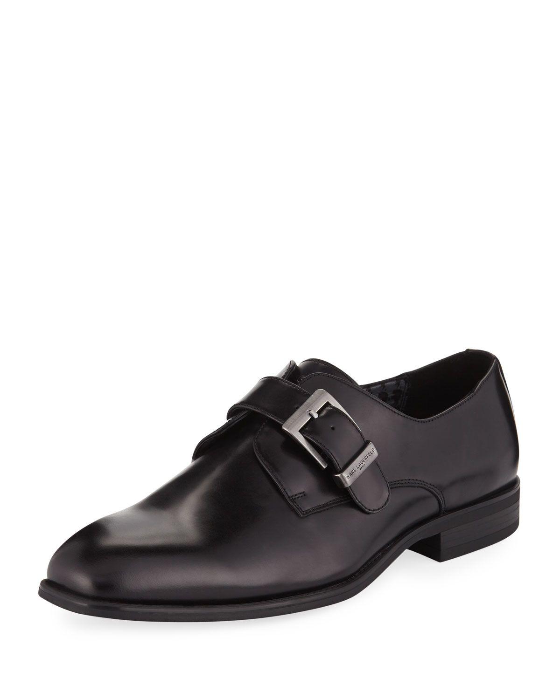 Monk strap, Karl lagerfeld men, Dress shoes