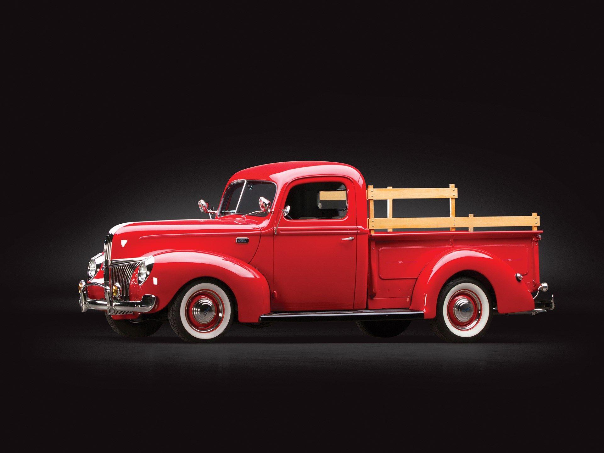 Pin On 1940 41 Ford Trucks