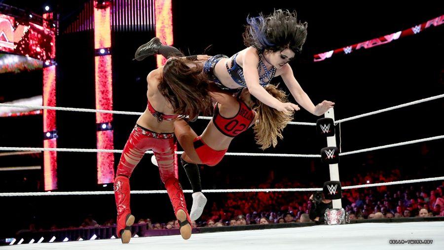 Paige vs. The Bella Twins