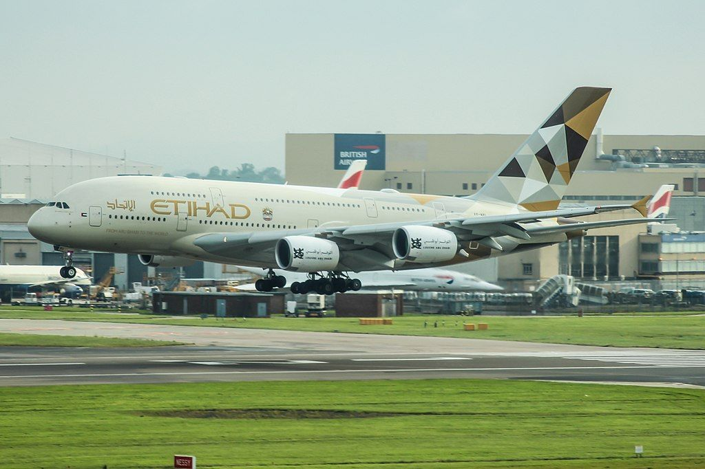 Etihad Airways Fleet Airbus A380 800 Details And Pictures 航空機
