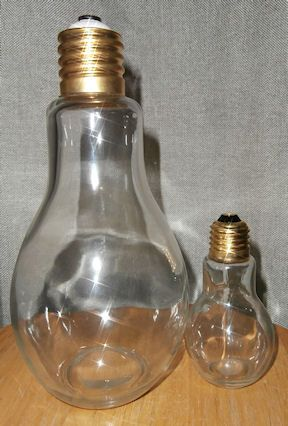 Huge 9 Inch Glass Light Bulb Candy Jar Container Engineering Gifts Electrician Gifts Birthday Lights