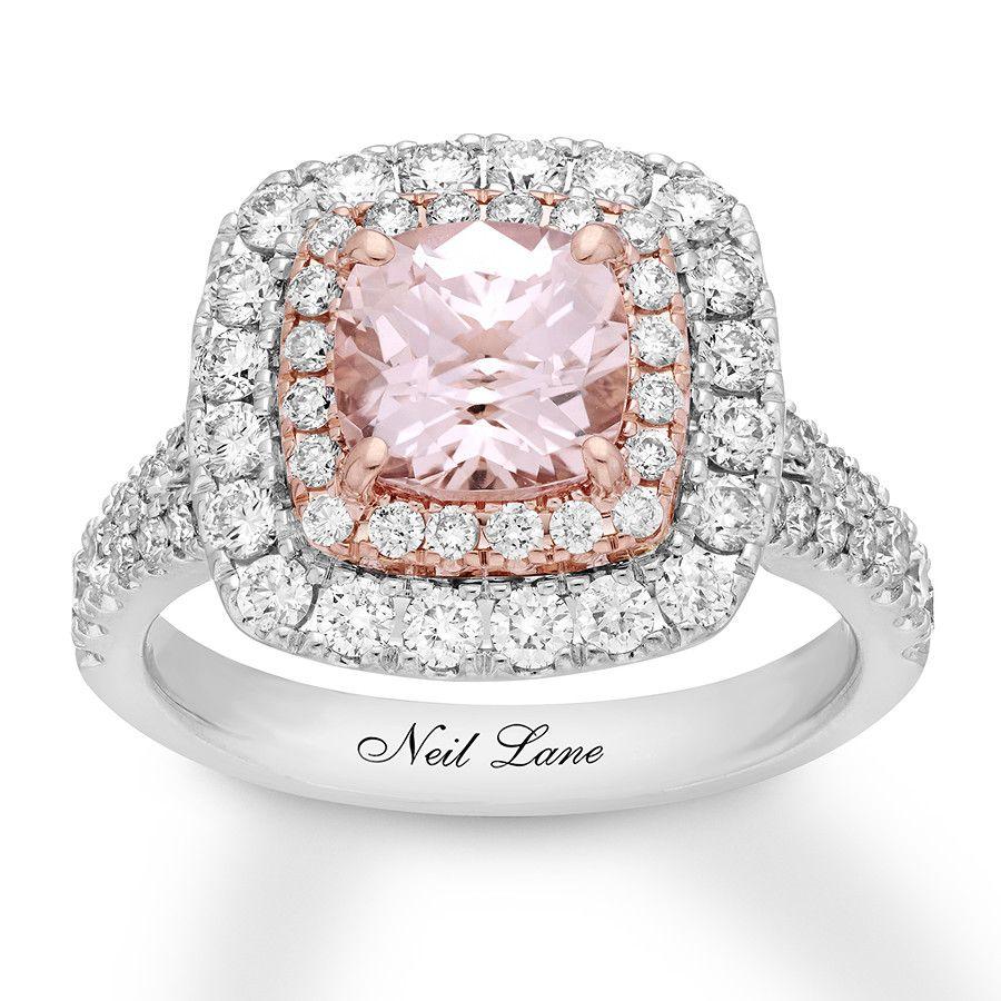 Neil Lane Ring 11/4 cttw Diamonds 14K TwoTone
