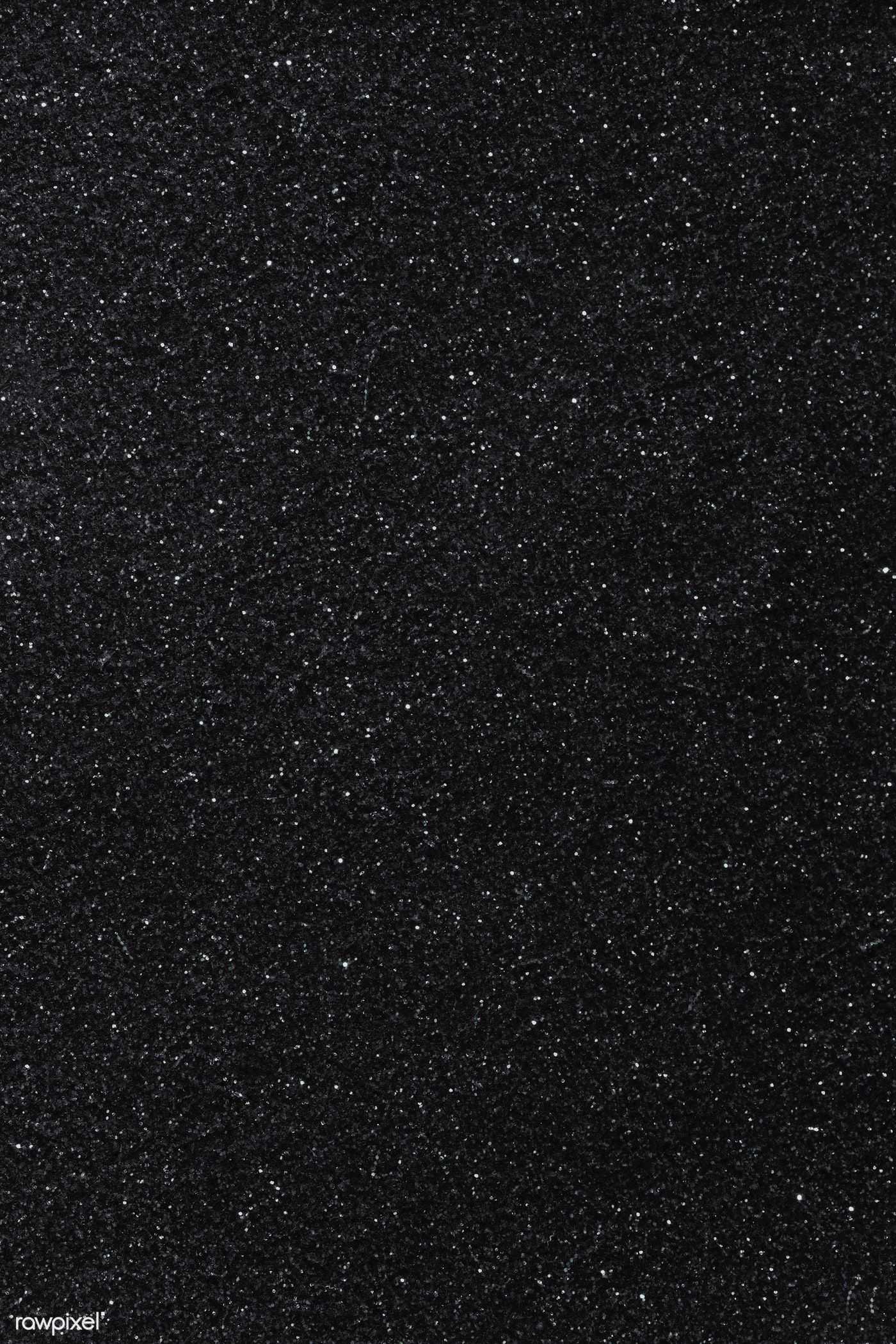 Black glittery background free image by