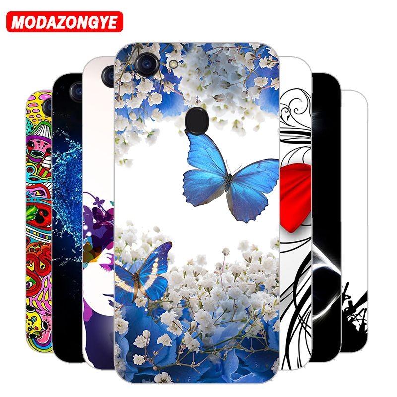 innovative design 1a5f2 74d5c For OPPO F5 Case OPPO F5 Case Cover Silicone TPU 6.0 inch Painting ...
