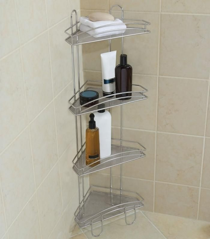 10 Shower Caddies for Bathroom Corners - Rilane | Bathroom ...