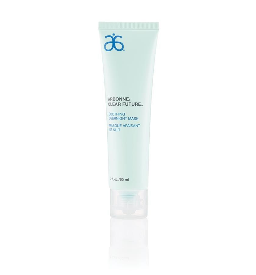Soothing Overnight Mask 4420 Arbonne // While you sleep