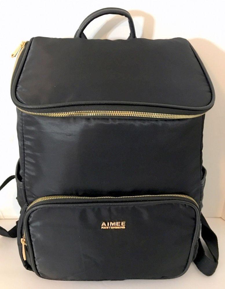 0d9fa61f4 AIMEE KESTENBERG Cordova Backpack Womens Black Nylon Padded Laptop Sleeve  NEW #AimeeKestenberg #Backpack