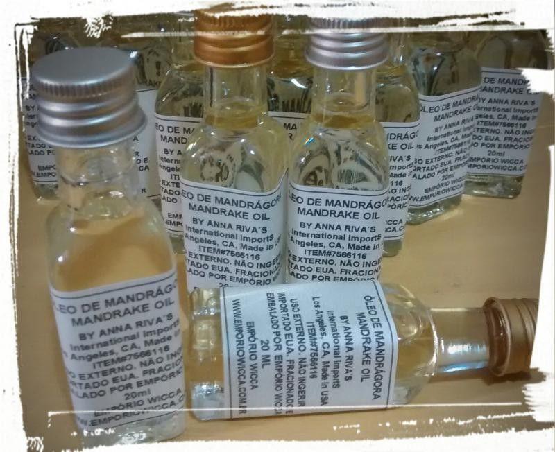 Óleo de Mandrágora (Mandrake Oil) - 20ml