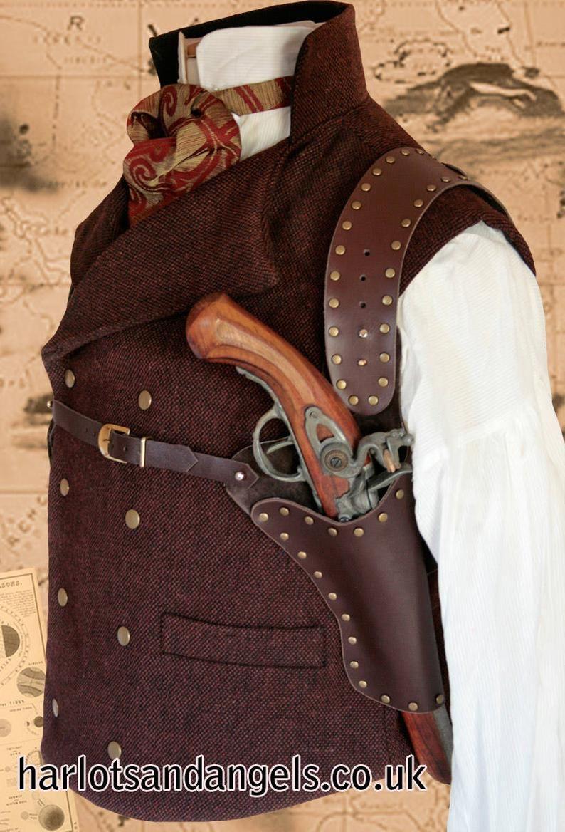 Shoulder Holster Pattern Pdf : shoulder, holster, pattern, Custom, Leather, Holsters