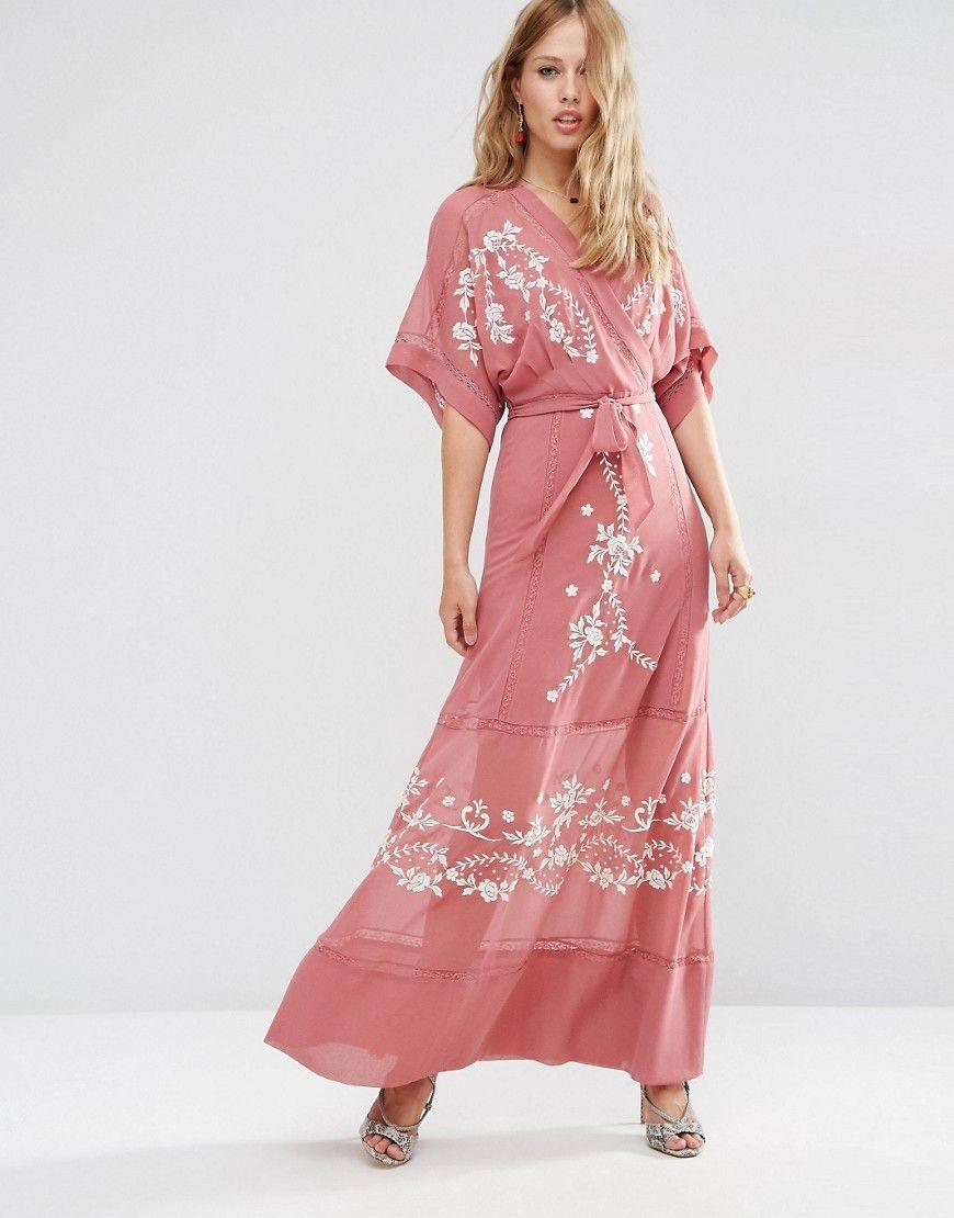 ASOS Premium Wrap Maxi Dress | ASOS and ASOS Market Place Faves ...