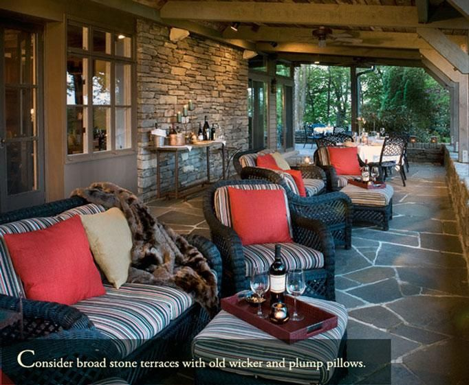 Pin By Blueridgepkwy On B Bs And Small Inns Outdoor Living Rooms Outdoor Living Outdoor
