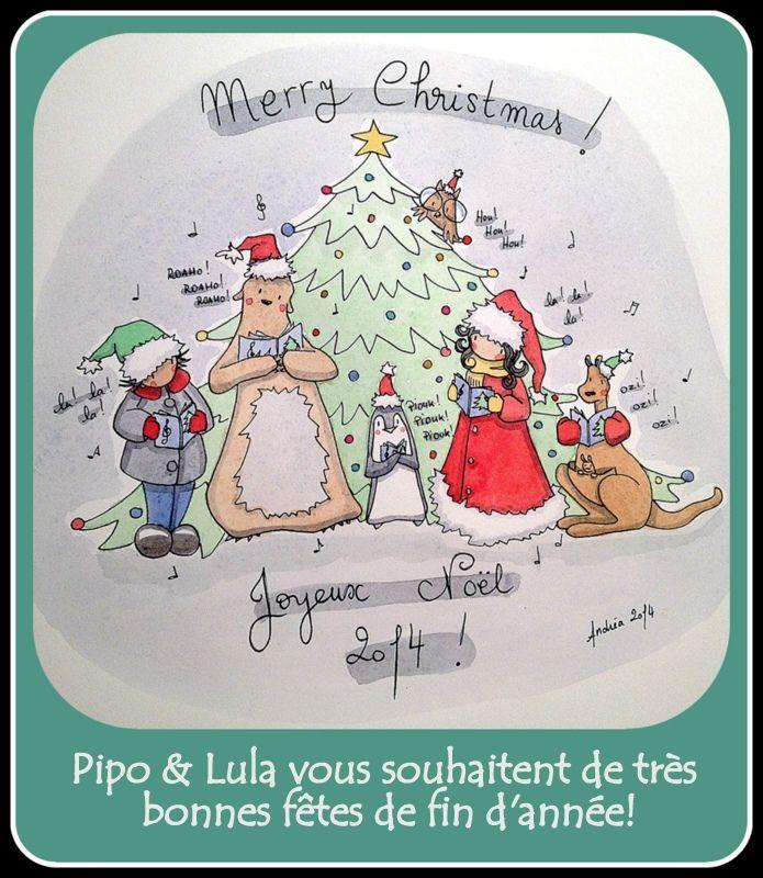 Merry Christmas - By Andréa JAUBERT