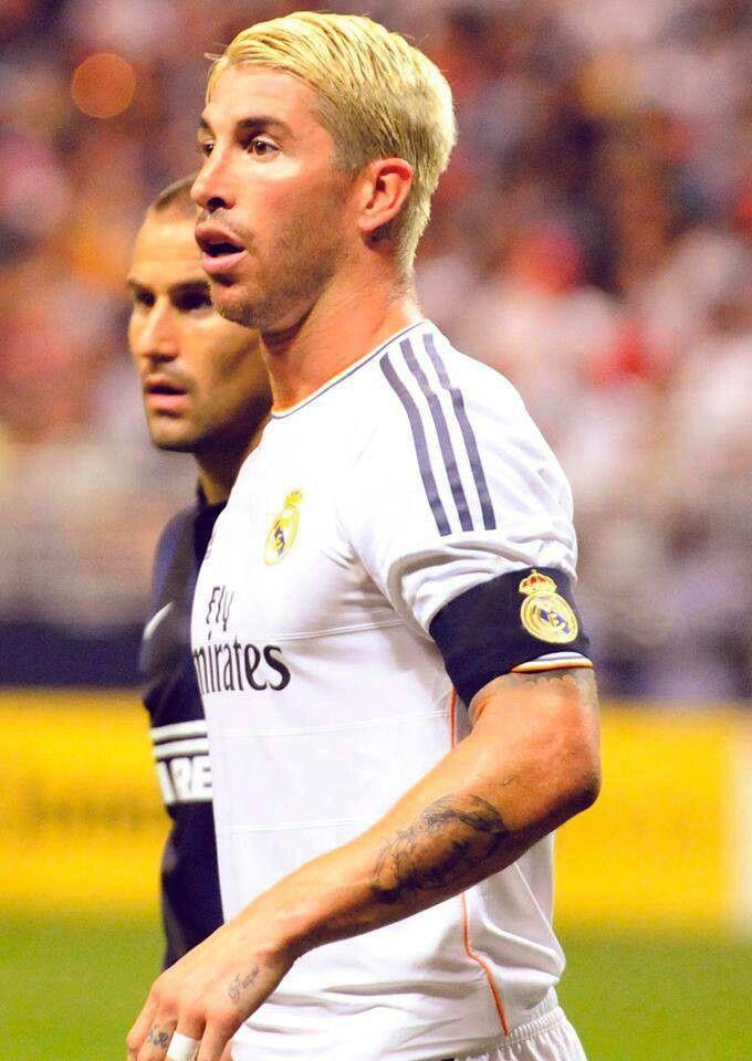 Sergio Ramos Did Not Rock The Blonde Look Madrid Football Club