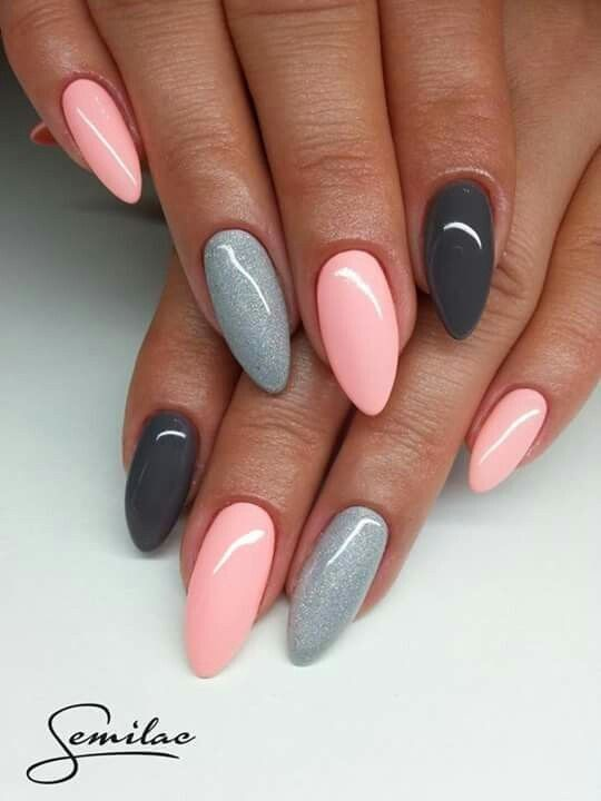 Acrylic nail designs - Pin By Klaudia Pilch On Paznokcie Pinterest Manicure, Makeup