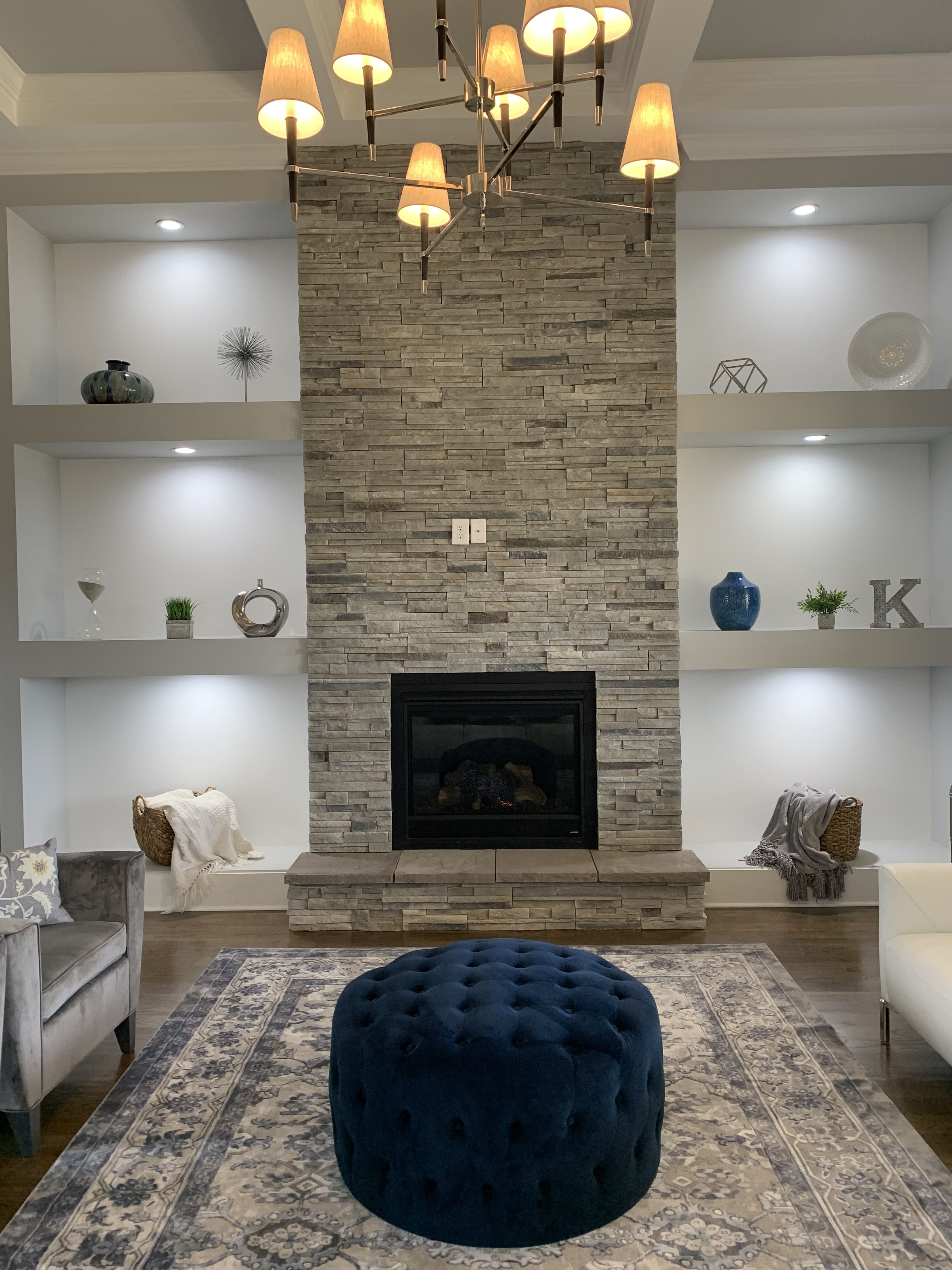 Entertainment center living room | Living room with ...