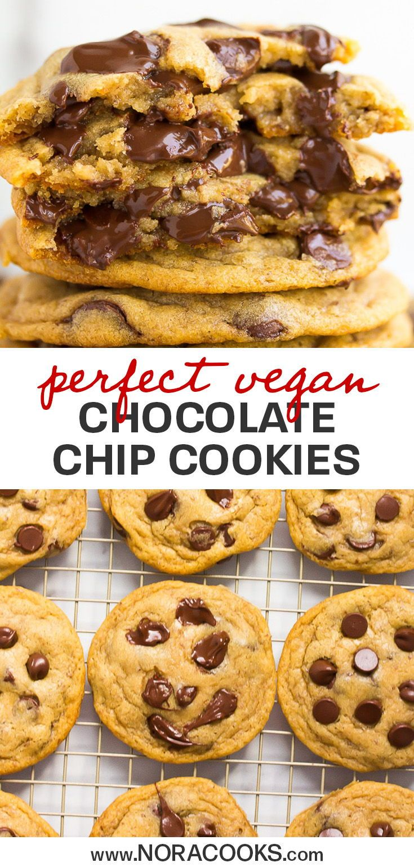 Galletas veganas perfectas con chispas de chocolate