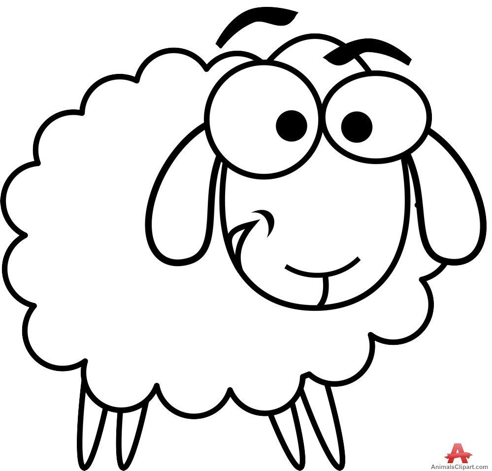 Sheep Black And White Sheep Clipart Black And White Free Images 3 Wikiclipart Clipart Black And White Clip Art Sheep