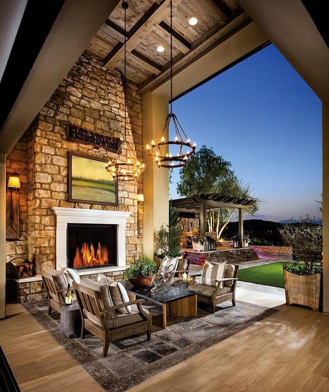 Beautiful home by @tollbrothers (With images) | Indoor ... on Beautiful Outdoor Living Spaces id=43419