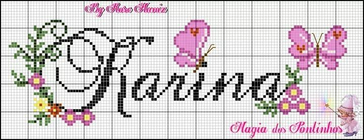 Pin von Nena Gouveia auf monograma nomes | Pinterest