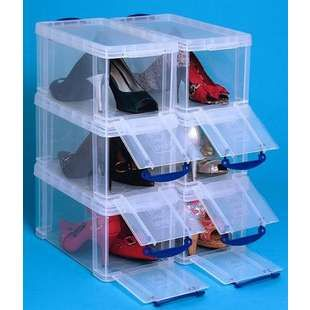 bo te chaussures 8l transparente rangements h2ome pinterest transparent box de. Black Bedroom Furniture Sets. Home Design Ideas