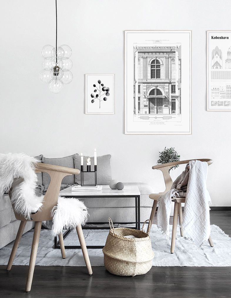 Winter Living Room Makeover Only Deco Love Winter Living Room Living Room Scandinavian Minimalist Living Room #winter #living #room #decor