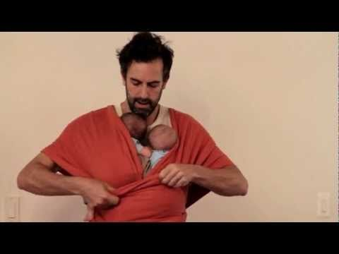 How To Put Twins Into A Moby Wrap This Guy Is Great I Lost It When