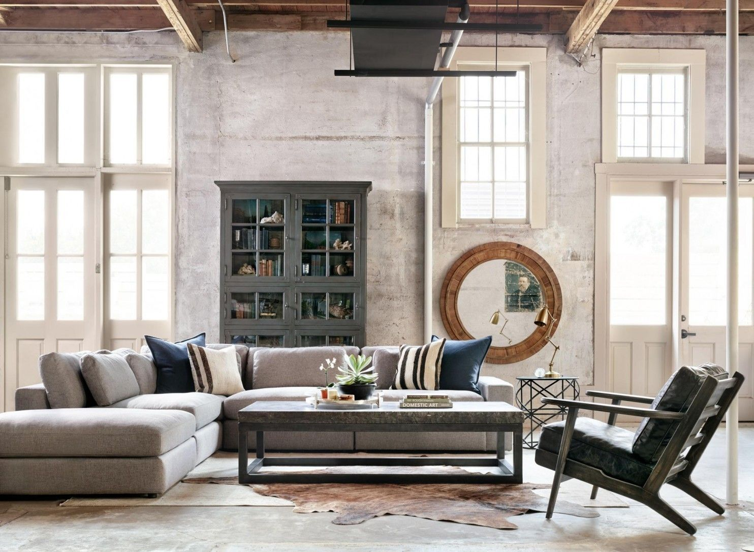 Drooling over industrial style? The real trick is to make it feel ...