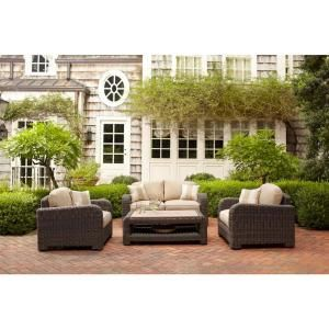 Brown Jordan Northshore Patio Lounge Chair With Harvest