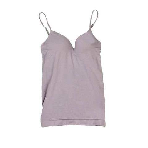 1803ed38bff54 New Arrival Women Modal V-neck Padded Adjustable Straps Seamless Bra Tank  Top Camisole Undershirts