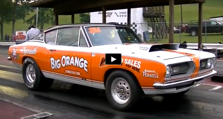 Cool Super Stock Plymouth Barracuda Drag Racing Mopar