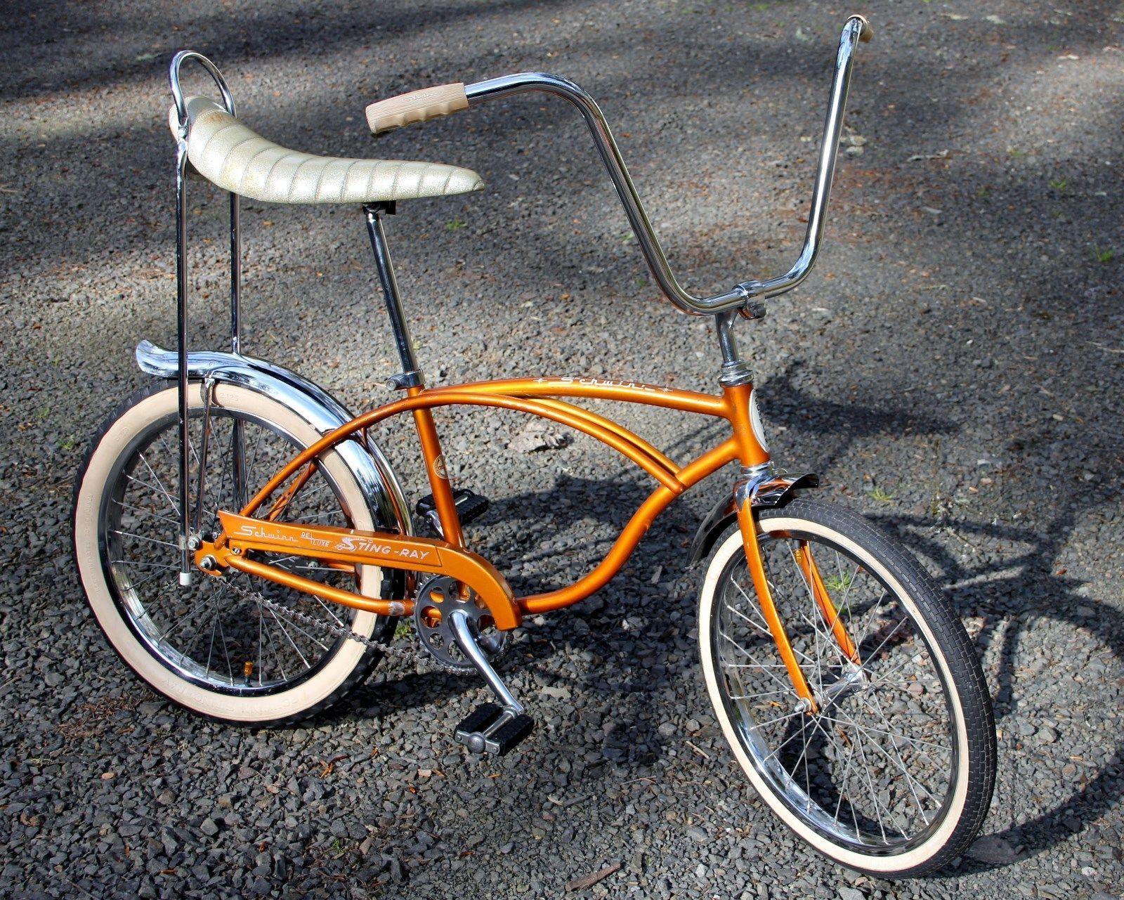 Original Paint Vintage 1966 Schwinn Coppertone J 39 Deluxe Stingray Bike S2  S7 | eBay