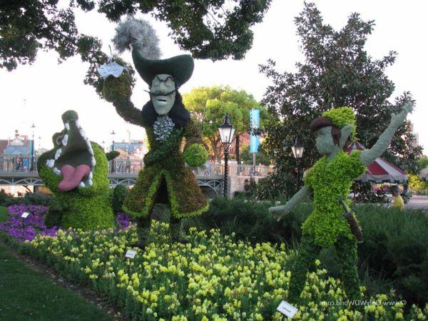 nachhaltige garten kunst skulpturen pflanzen, 35 gartenskulpturen von comicfiguren und kunstvolle landschaftsbau, Design ideen