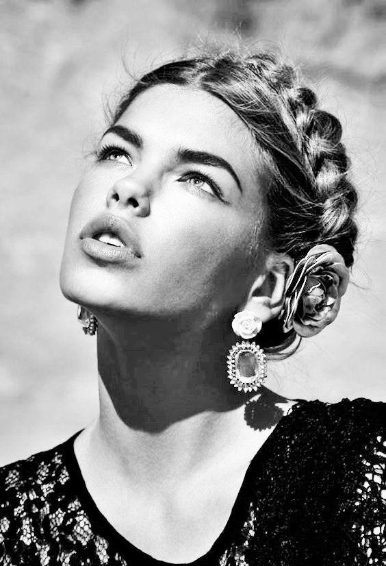 hispanique ❖ la couronne tresse (hair braid crown)