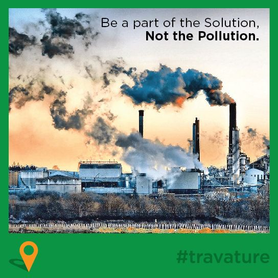 Travature Be A Part Of The Solution Not Pollution