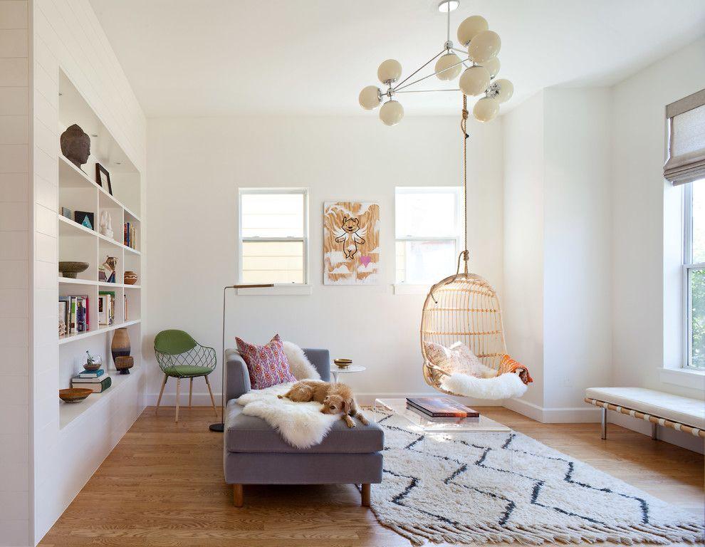 Swingasan Chair Family Room Farmhouse With Chandelier Custom Bookshelf  Daybed Dwell Studio Sofas Hanging Chair Modern