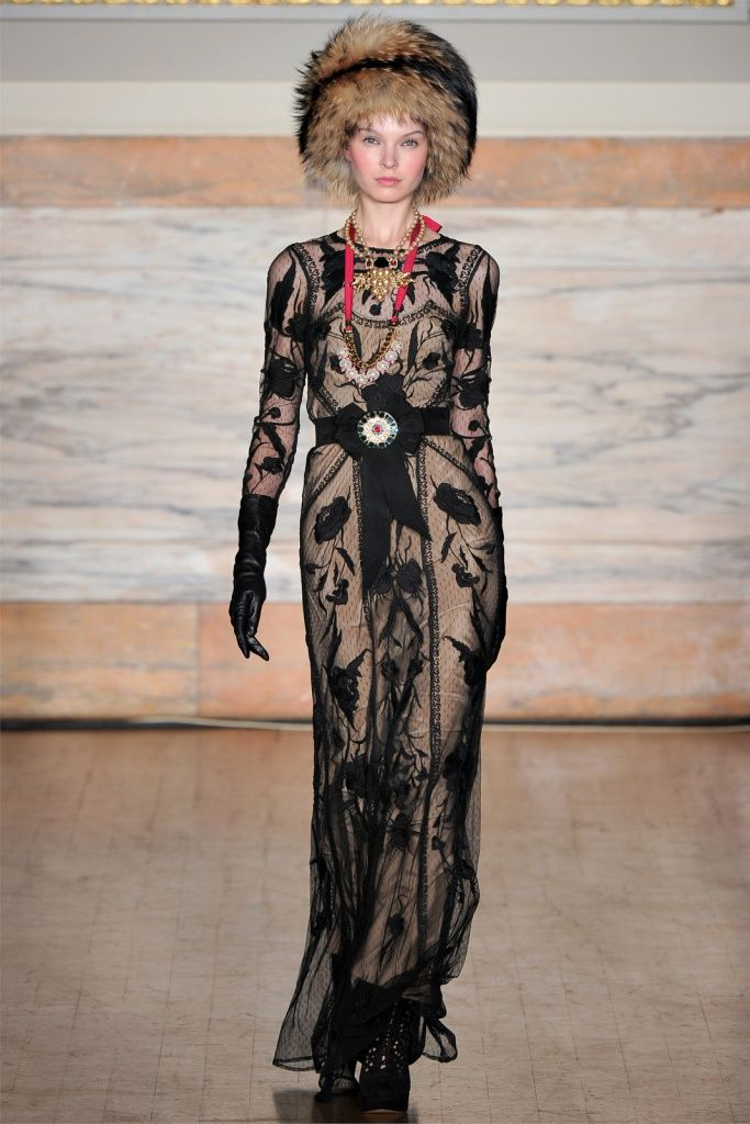 Temperley London Fall/Winter 2012 collection.