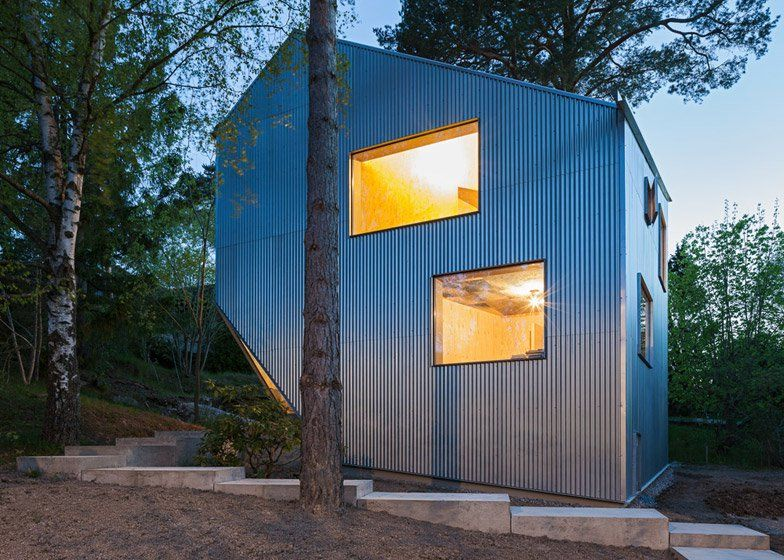 Swedish Architect Tommy Carlsson Has Completed An Affordable Prefabricated  Home Near Stockholm That Is Clad In