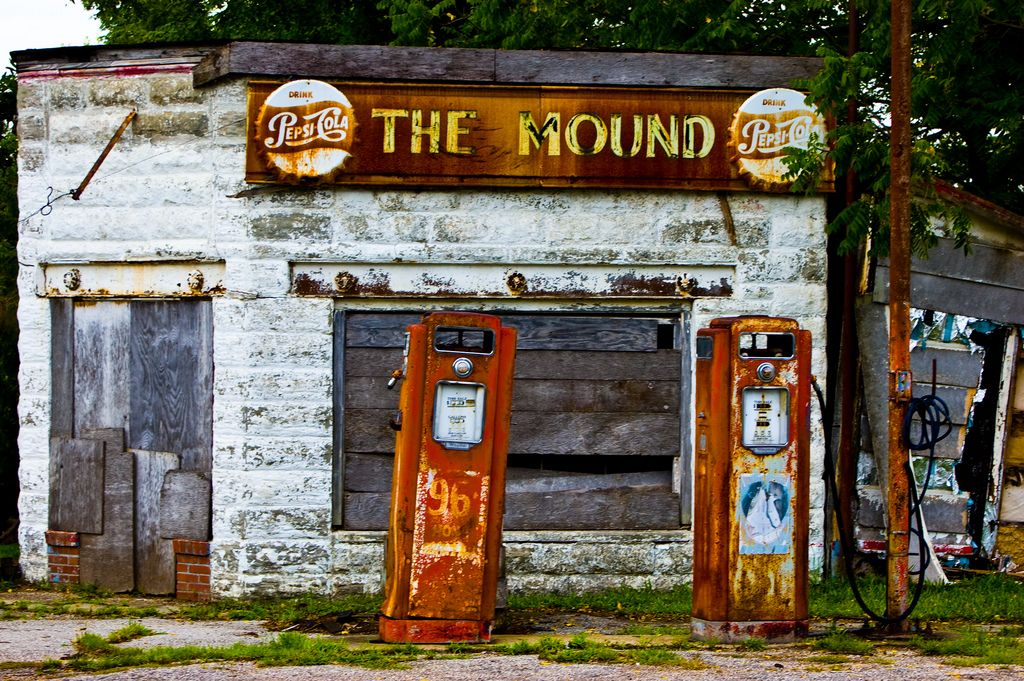 Gas Stations Around Me >> The Mound Reminds Me Of Abandoned Gas Station Near My Home