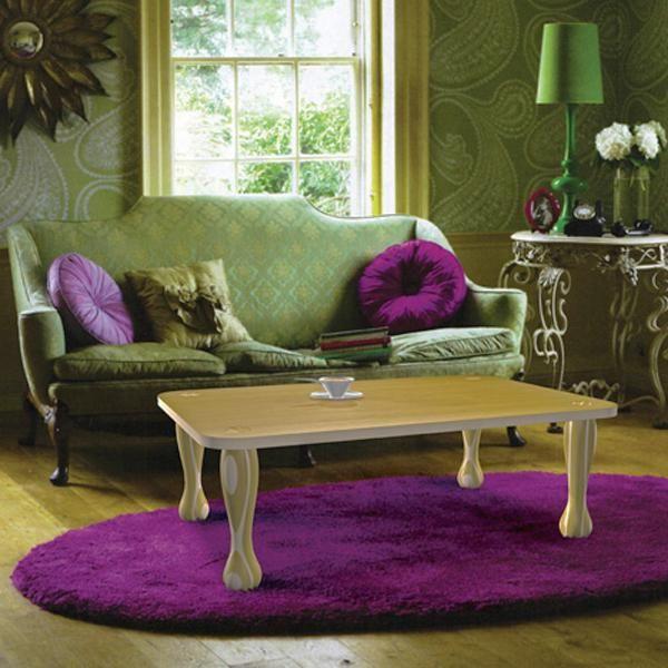 wonderful pink green living room color schemes | Pink, Purple and Green Color Schemes, 20 Modern Interior ...