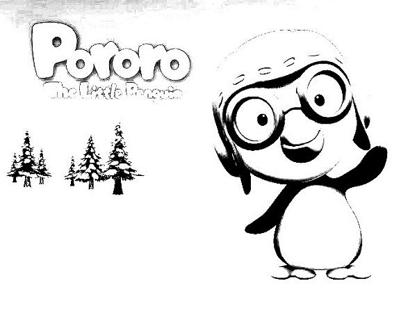 pororo coloring pages: pororo coloring pages | Addison | Pinterest ...