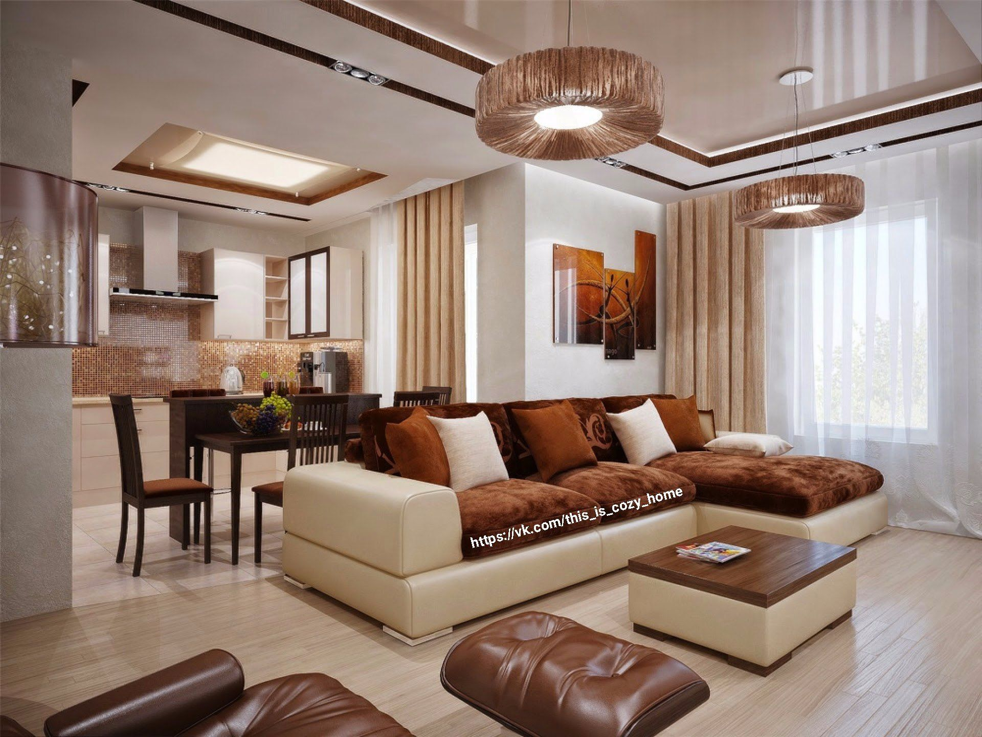 Brown And Cream Living Room Ideas In 2020 Brown Living