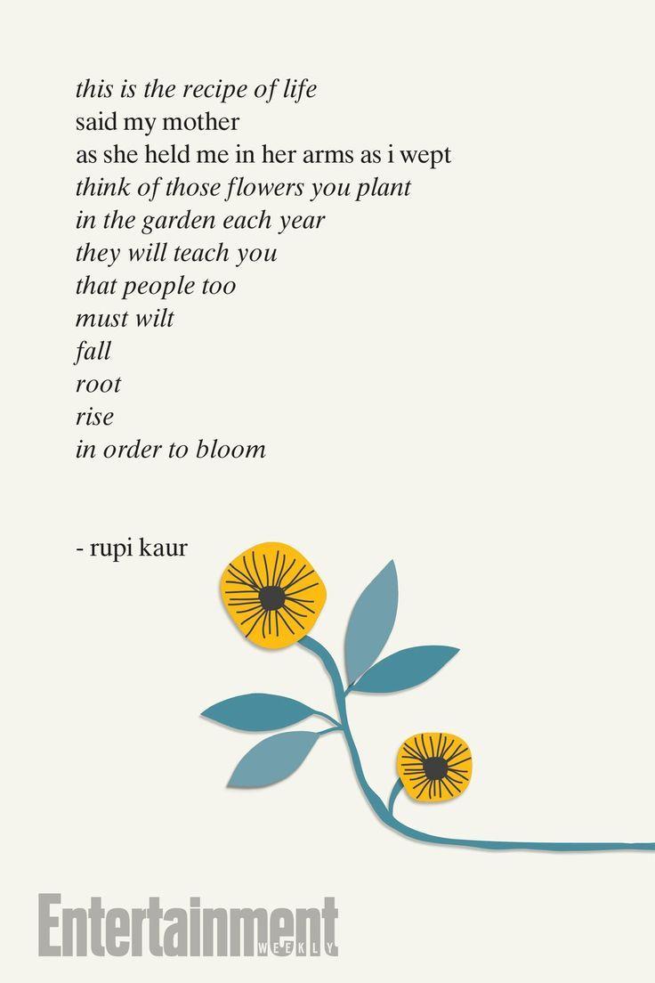'Milk and Honey' Author Rupi Kaur Shares Poem From Next Book