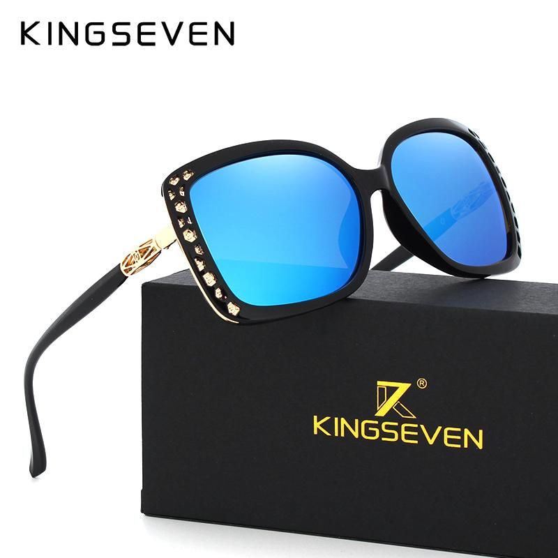 2bb63b313a Original Sunglasses Women Polarized Elegant Butterfly Design For Ladies Sun Glasses  Female Oculos De Sol KINGSEVEN